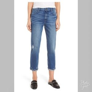 Paige High Rise Jimmy Jimmy Crop Jeans- ChicEwe